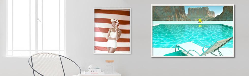 Sommerbilder mit Pool