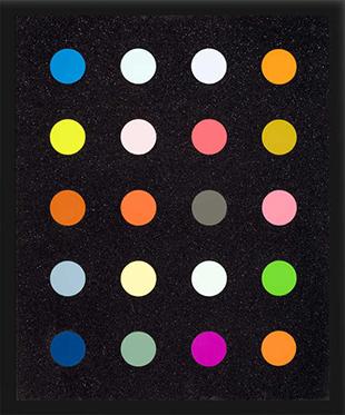 Damien Hirst : Methylamine-13c