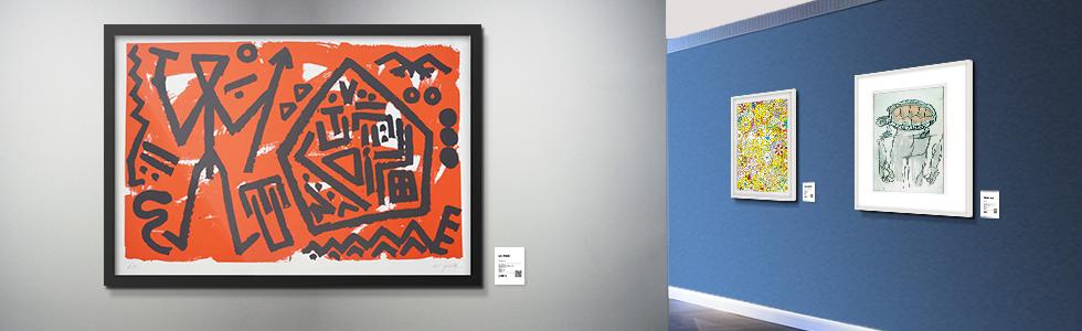 Artistes de l'Art Basel chez LUMAS