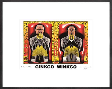 Gilbert & George: Ginkgo Winkgo