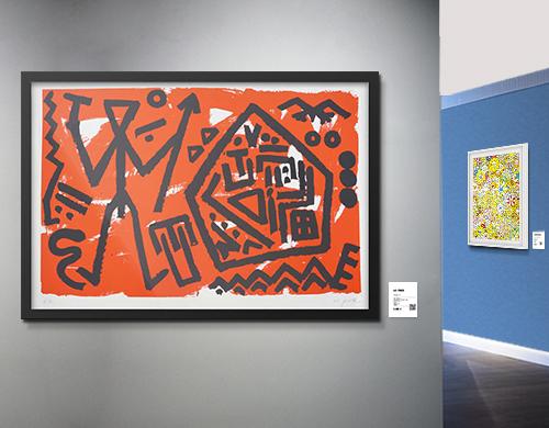 Art Basel Künstler bei LUMAS