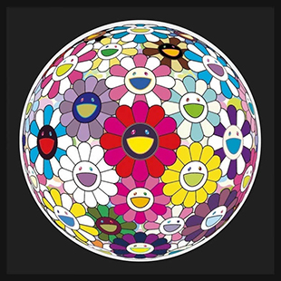 Takashi Murakami : Open Your Hands Wide