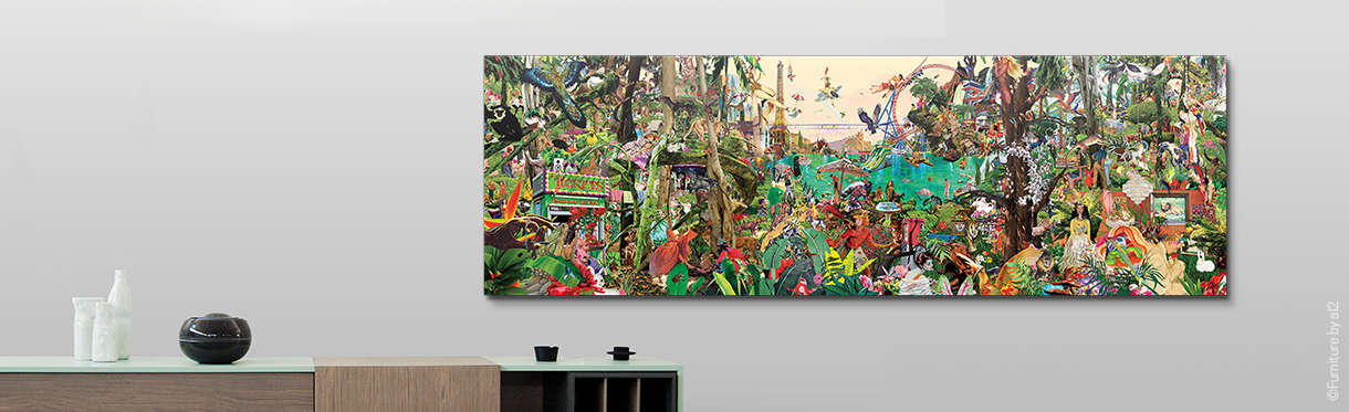 Nature Wall art: Sanda Anderlon Jungle
