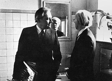 Andy Warhol interviews Reinhart Wolf