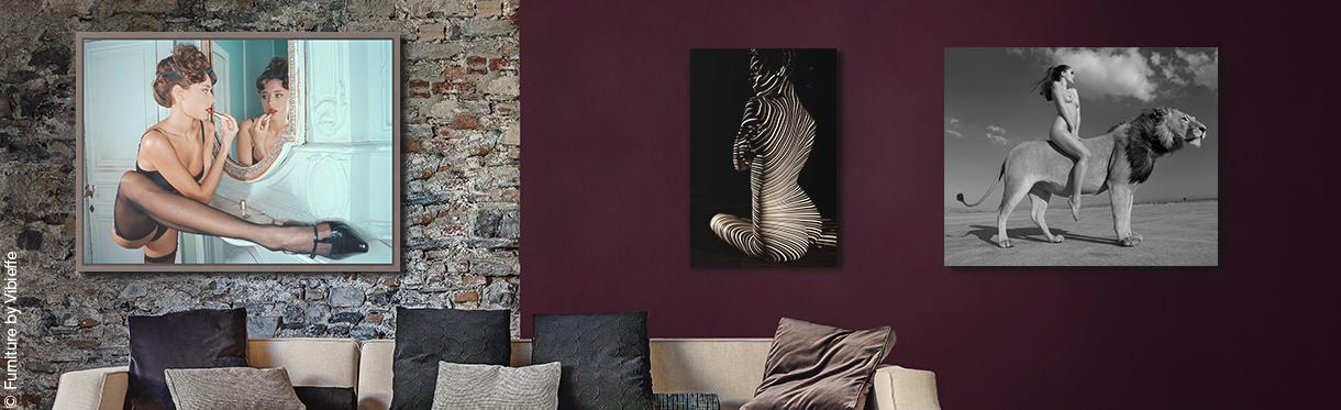 Erotische Wandbilder