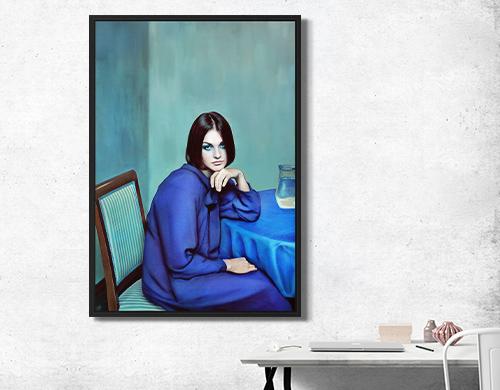 Blue Girl by Andrey Yakovlev & Lili Aleeva