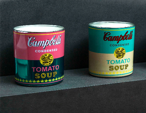 Perfumed candles by Andy Warhol