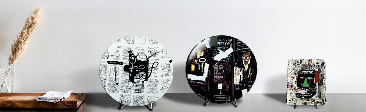 Porcelain from Jean-Michel Basquiat
