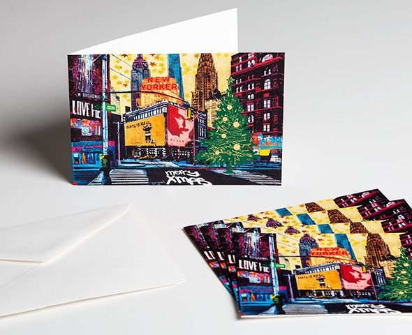Holiday Greeting Cards designed by the artist