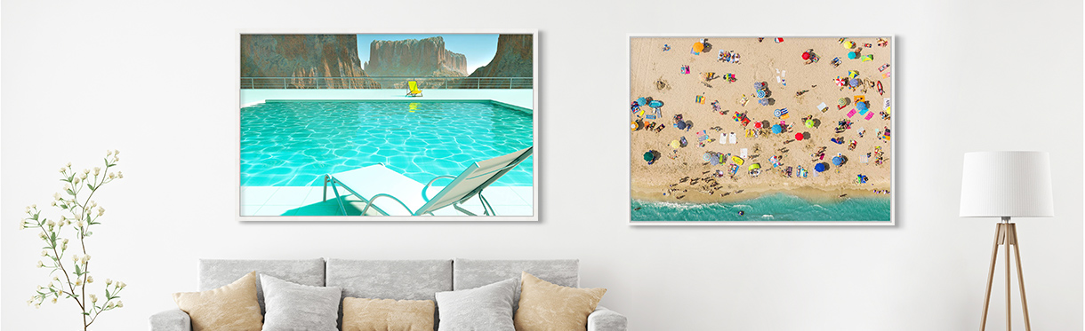 Beach Wall Art: Carl Miller