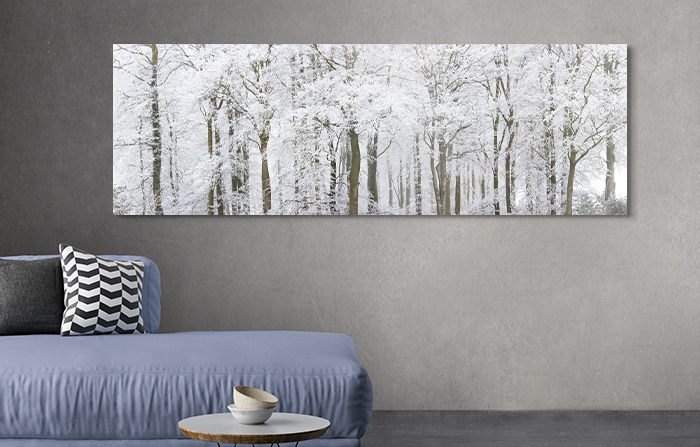 comfortably furnishing the guest room with art