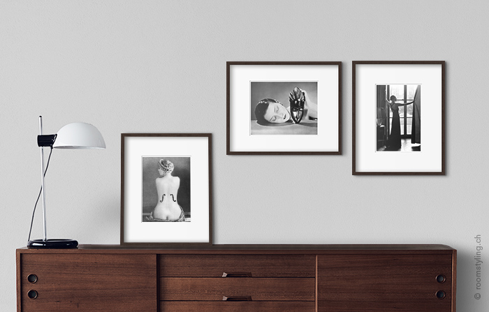 Black and White Living Room Wall Art