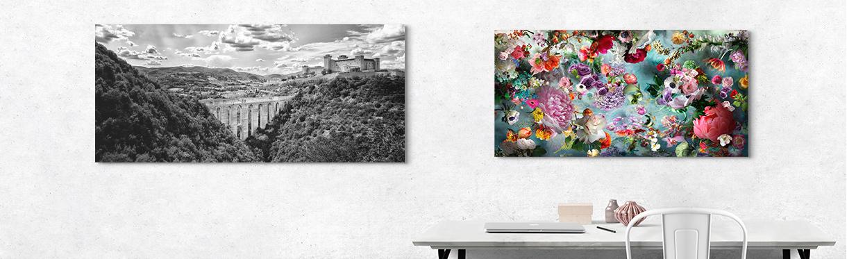 Helmut Schlaiss and Isabelle Menin: Home Office Art