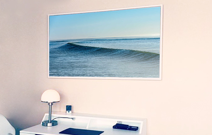 home office art by Daniel Reiter Welle VII