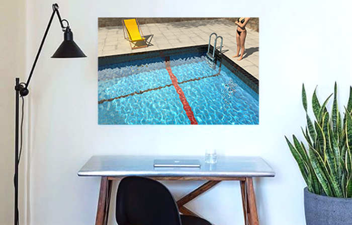 Office Art: Poolcaust by Gero Gries