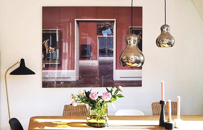 home office art: Gemäldegallerie Rot/Blau by Reinhard Görner