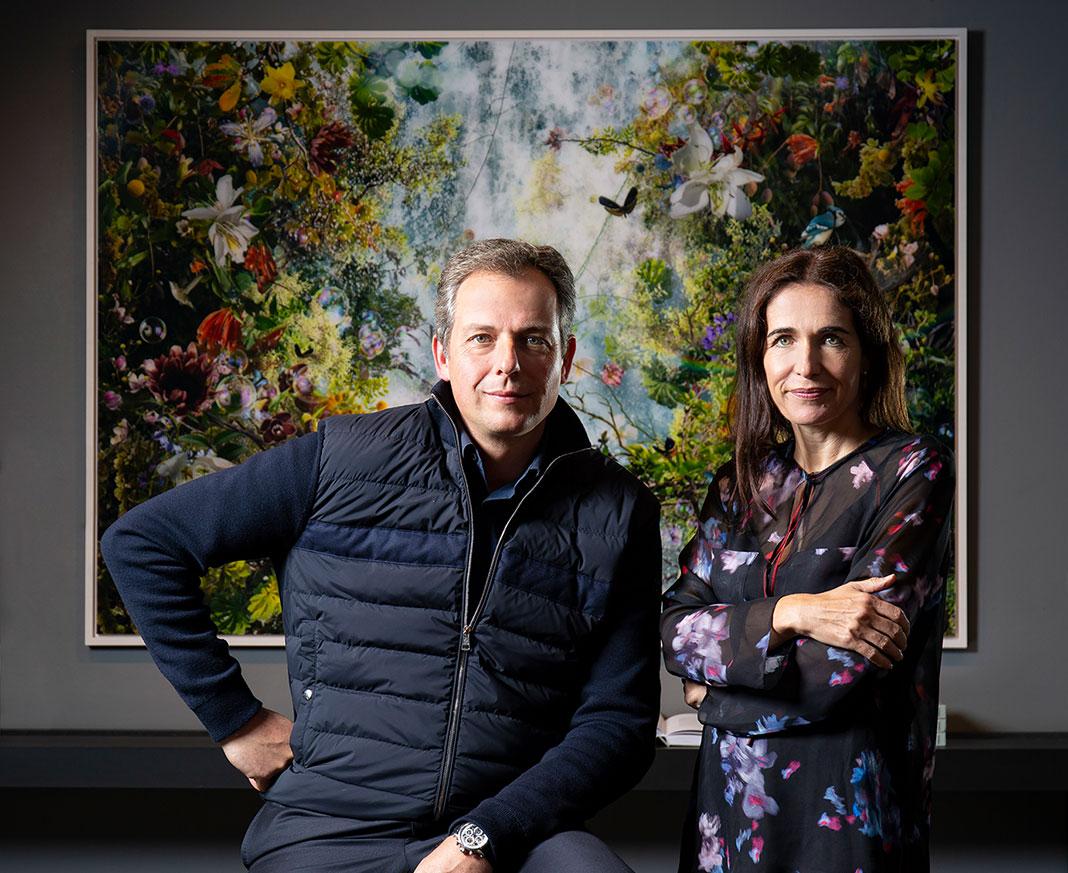 Die LUMAS Gründer: Stefanie Harig und Marc Ullrich
