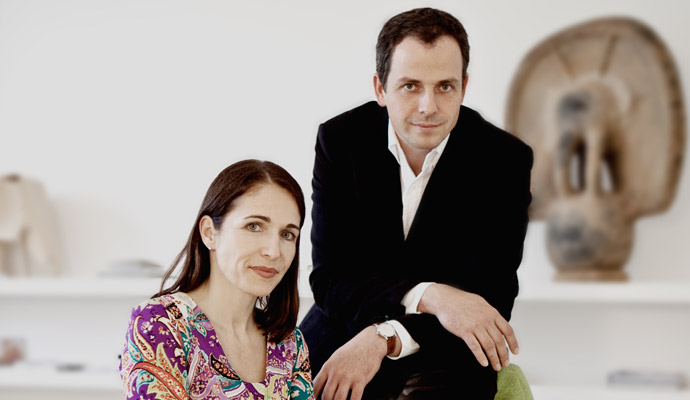 The founders of LUMAS: Stefanie Harig and Marc Ullrich