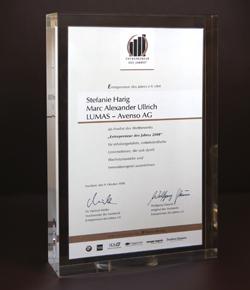 2008 Finalist –  Entrepreneur des Jahres
