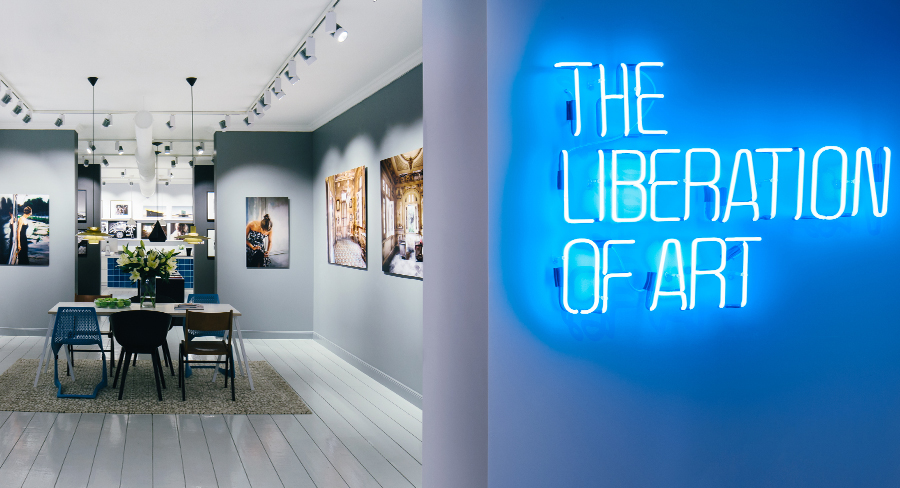 The LUMAS Concept: The Liberation of Art