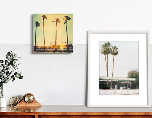 Americana Artworks by Stefanie Schneider and Stephanie Kloss on a Home Wall