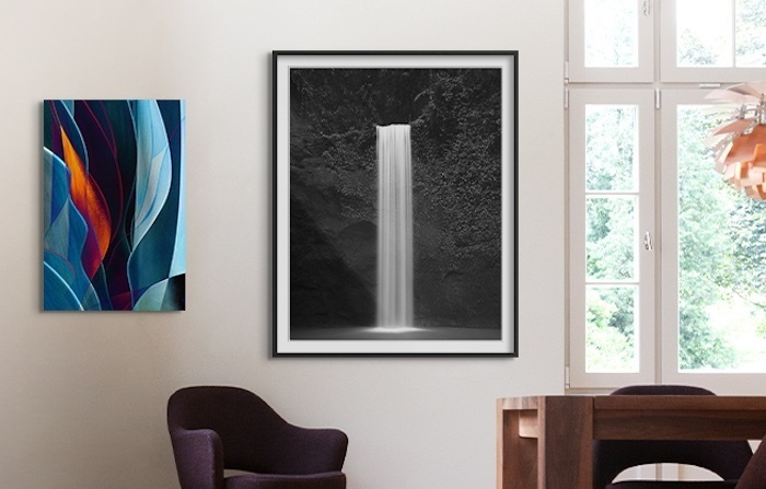Waterfall Print by Tirta Winata