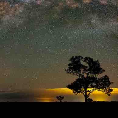 night sky photo art
