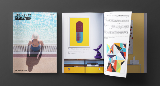 Das neue Lumas Art Magazine.