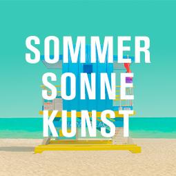 Sommer Sonne Kunst Meer