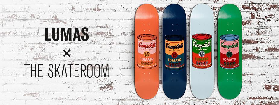 LUMAS x The Skateroom