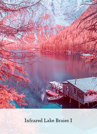 Infrared Lake Braies I von Paolo Pettigiani