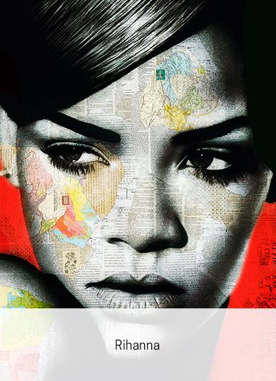 Rihanna von André Monet