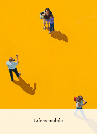 Life is mobile von Eva Navarro