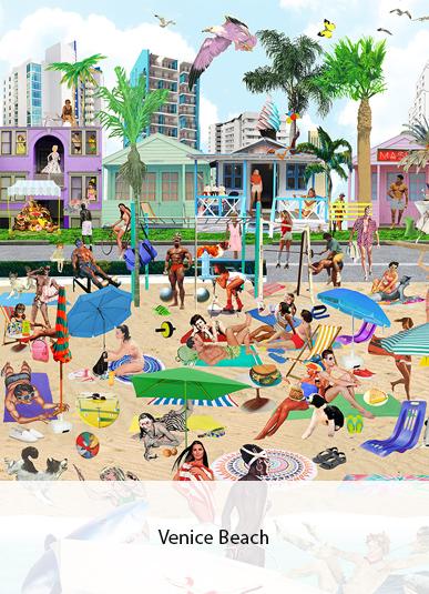 Venice Beach von Sanda Anderlon