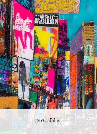 NYC Allday von Sandra Rauch