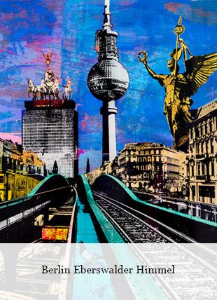 Berlin Eberswalder Himmel von Sandra Rauch