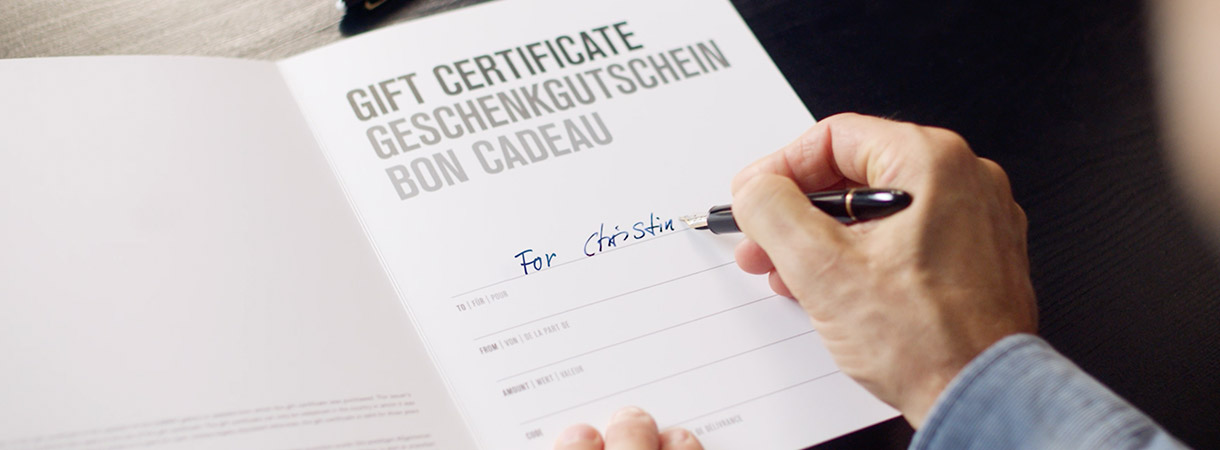 LUMAS Gift Certificates