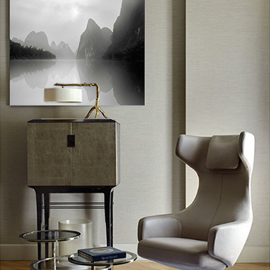 Living Room Wall Art: Jonathan Chritchley: Li River, Guilin, Study 2.