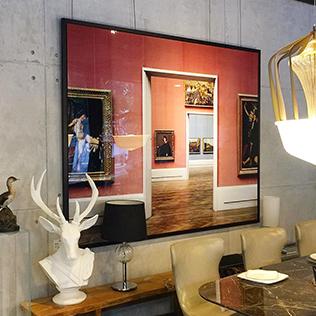 Reinhard Görner: Gemäldegalerie rot/blau