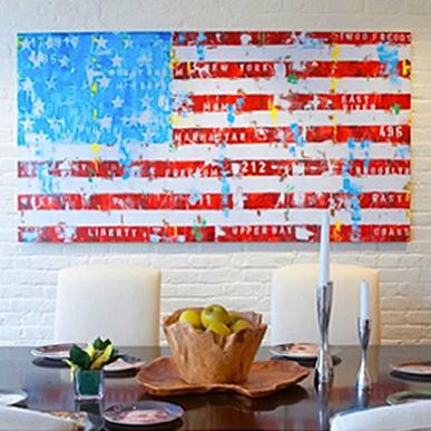 Freddy Reitz: New York Flag