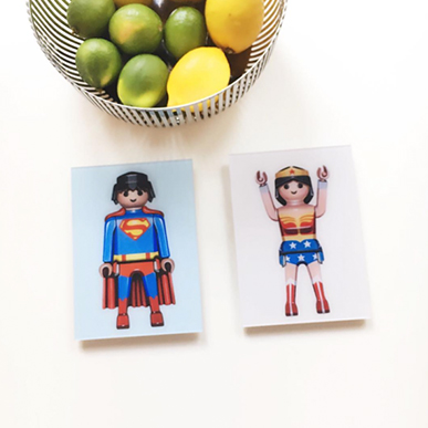 Small Kitchen Wall Art: Superman by Pierre-adrien Sollier