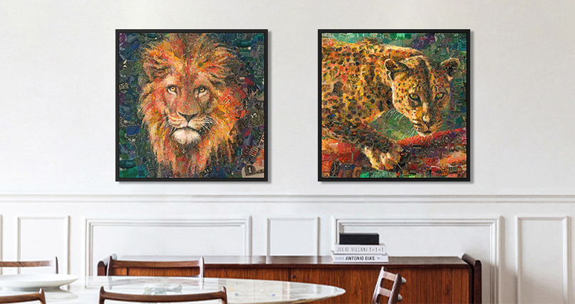 Charis Tsevis: Lion
