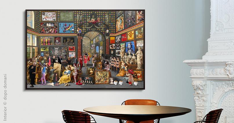 Lluis Barba Cantos: Apelles painting Campaspe, van Haecht II