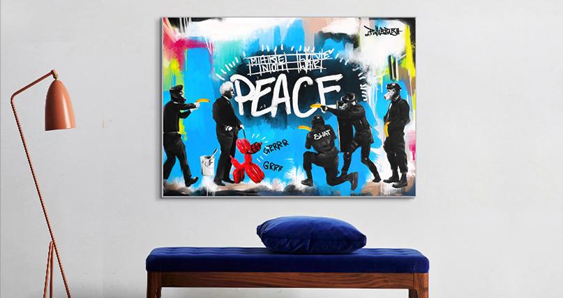 Mr. Pinkbrush: PEACE