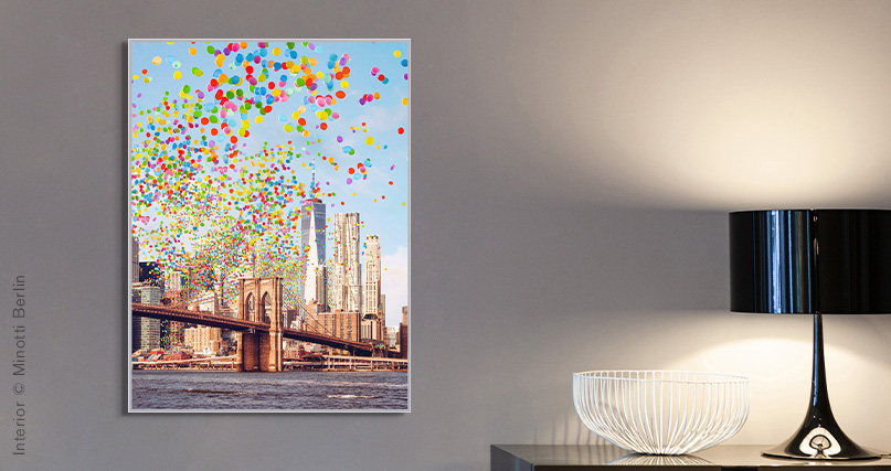 Robert Jahns: Brooklyn Bridge Balloons
