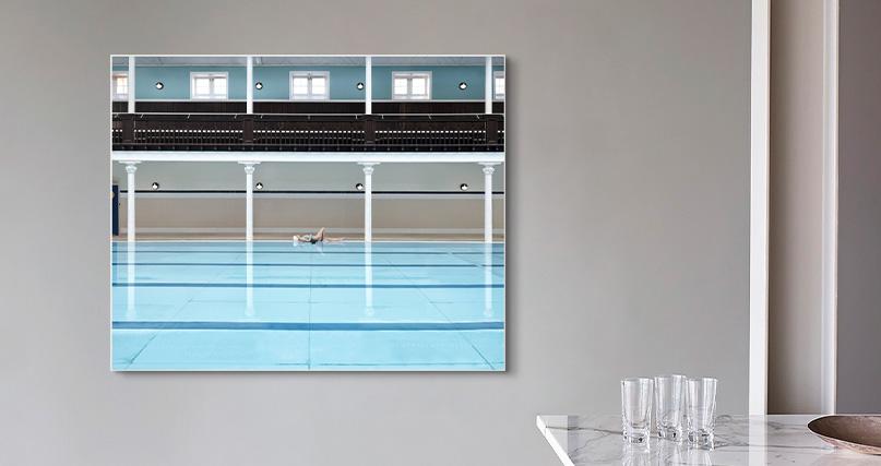 Soo Burnell: Swimmer at Portobello