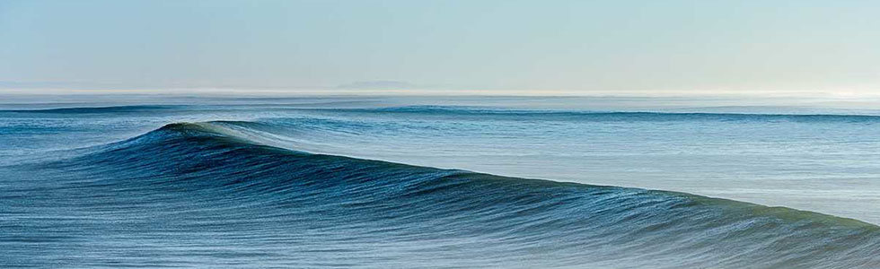 blue wave water art photography by Daniel Reiter