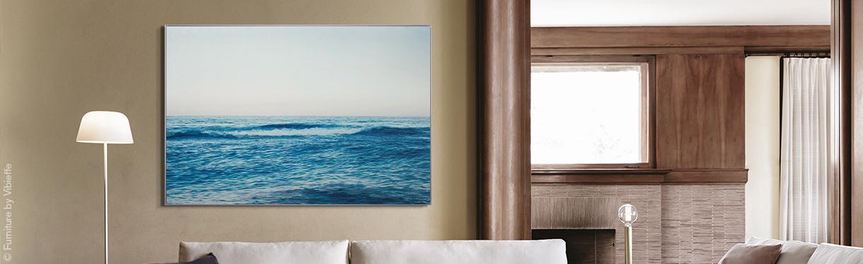 Seesaw Seascape IV von Wolfgang Uhlig