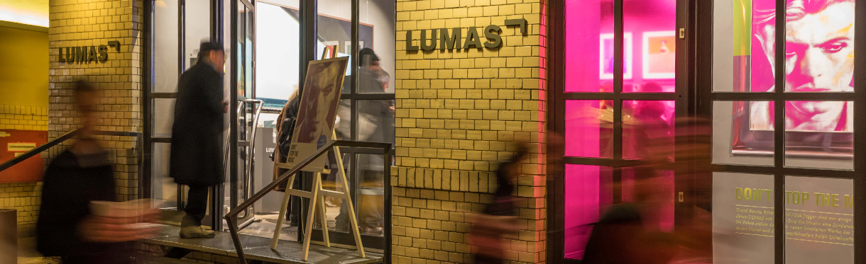 Events in den LUMAS Galerien